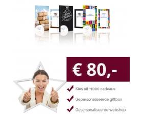 Eigen Keuze Kerstpakket 80 euro € 80.00